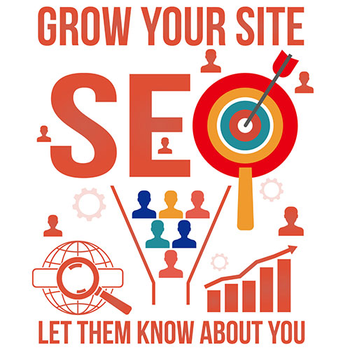 SEO Search Engine Optimization Target